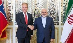 رایزنی وزرای خارجه ایران و نروژ در اسلو