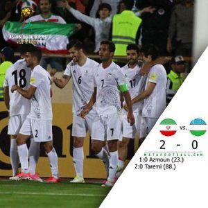 عکس/پست  دایی پس از صعود تیم ملی ایران به جام جهانی