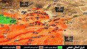«جب الجراح» هدف نیروهای مقاومت در شمال فرودگاه تی ۴؛ تغییر نقشه عملیات برای آزادی «آراک» + نقشه میدانی