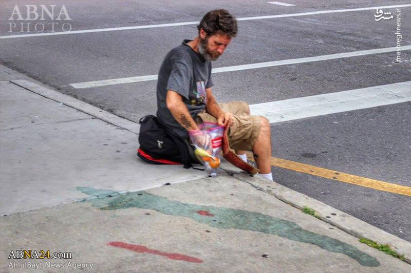 کمک سازمان «حسین کیست؟» به نیازمندان آمریکایی