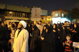 عکس/ مراسم احیاء شب قدر در حسینیه همدانیها