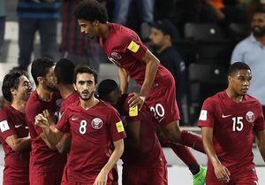 پیروزی خانگی قطر مقابل عمان