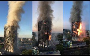 12 کشته در آتش سوزی برج گرنفل لندن/ احتمال افزایش تلفات وجود دارد/ آتش سوزی برج گرنفل متوقف شد/ اسکان بی خانمان ها در مسجد و کلیساها +عکس و فیلم
