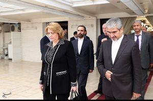 عکس/ مراسم یادبود شهدای حادثه تروریستی تهران در «دمشق»