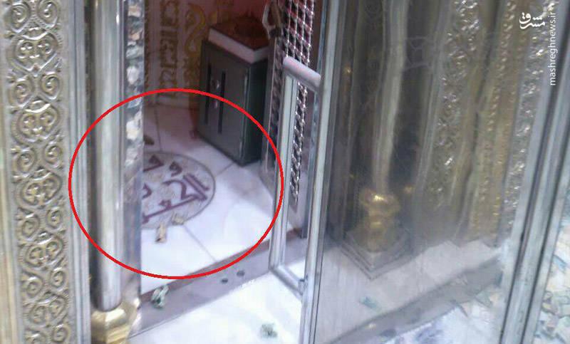 عکس ضربت خوردن حضرت علی علیه السلام