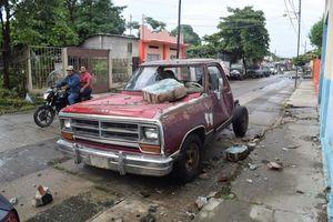 عکس/ خسارت ناشی از زلزله در مرز مکزیک و گواتمالا
