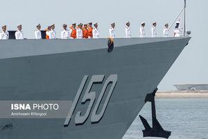عکس/ پهلو گرفتن ناوگروه نیروی دریایی چین در بندرعباس