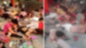 فیلم دردناک از انفجار در مهد کودکی در چین