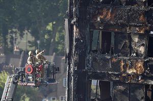 افزایش شمار تلفات قربانیان آتش سوزی در لندن