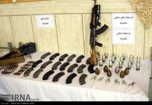 عکس/ تجهیزات کشفشده از گروهک تروریستی انصارالفرقان