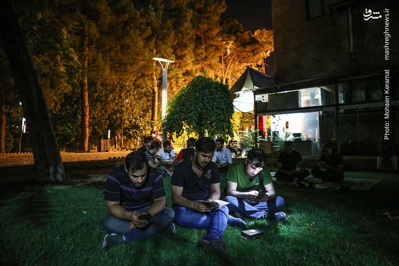 مراسم شب احیاء در خانه هنرمندان