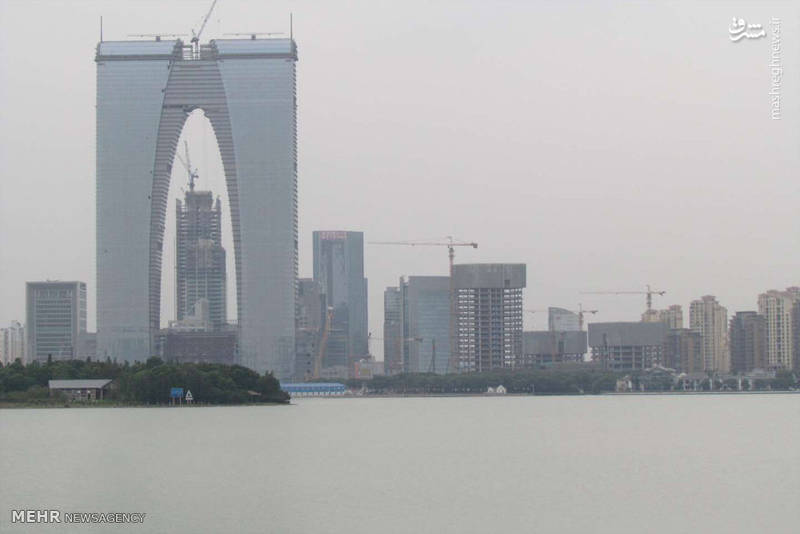 معماری عجیب ساختمان های چینی
