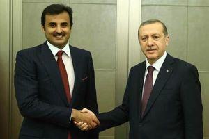 گفتگوی سه جانبه سران ترکیه، قطر و فرانسه پیرامون بحران خلیج فارس