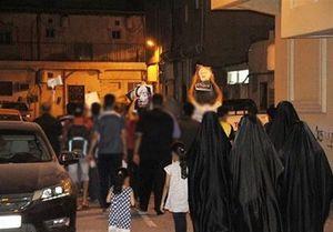 تظاهرات شبانه بحرینیها علیه آلخلیفه +عکس