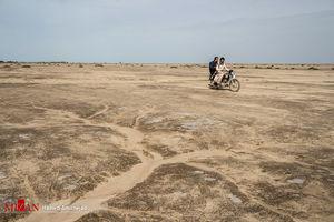 خشکسالی وکم آبی در جنوب کرمان