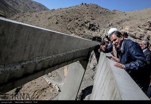 عکس/ بازدیدجهانگیری از آزاده راه تهران-شمال