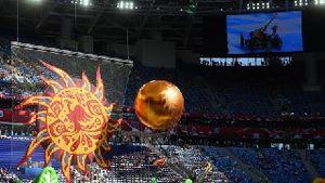 دانلود فیلم و عکسهای مراسم افتتاحیه جام کنفدراسیون ها 2017