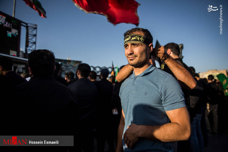 اجتماع مدافعان حرم - میدان امام حسین(ع)