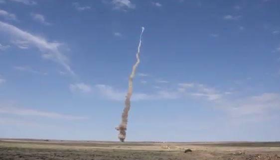 فیلم/ آزمایش رهگیر موشک هسته ای توسط روسیه