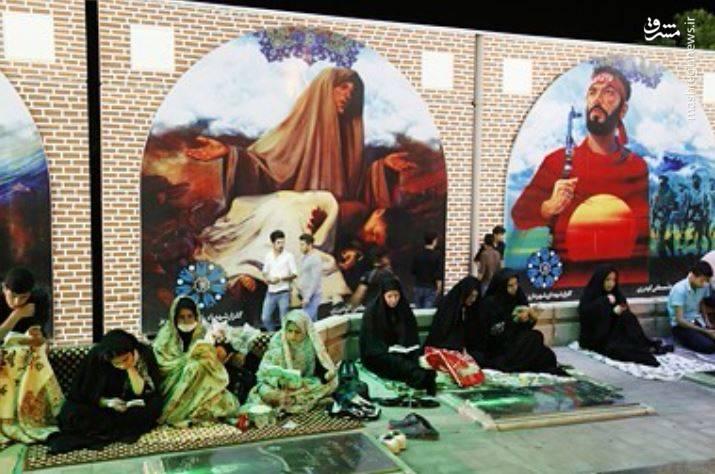 شب قدر در گلزار وادی رحمت تبریز