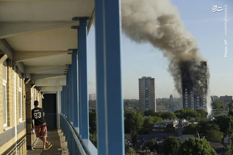 مرگ دهها تن بر اثر آتشسوزی در برج مسکونی گرنفل لندن