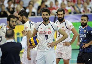 تیم ملی والیبال ایران لهستان