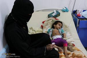 شیوع بیماری وبا در یمن