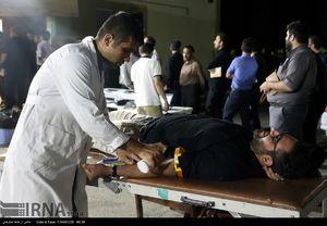 عکس/ اهدای خون مردم ارومیه در شب قدر