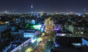 عکسی زیبا از مراسم شب قدر در تهران