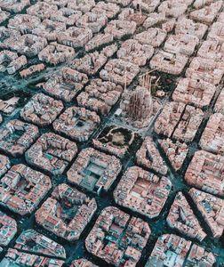 عکس/ نمایی دیدنی از بارسلون