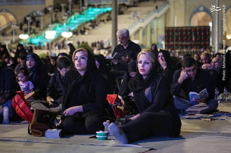 احیاء شب بیست و سوم رمضان در مصلی امام خمینی (ره) تهران