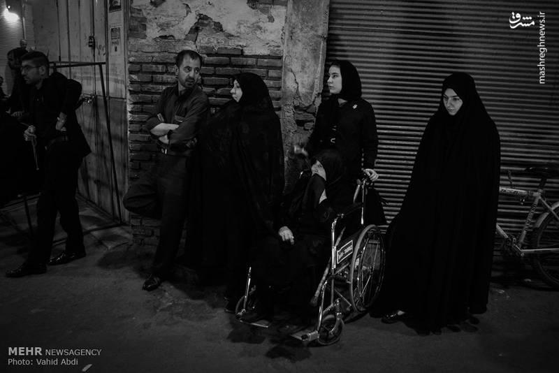 مراسم عزاداری شهادت حضرت علی ابن ابیطالب (ع) در بازار تبریز