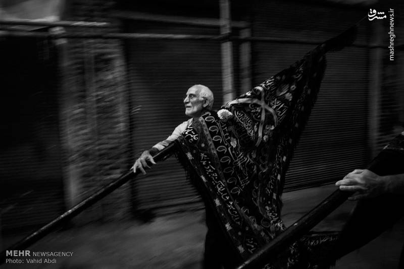 مراسم عزاداری شهادت حضرت علی ابن طالب (ع) در بازار تبریز