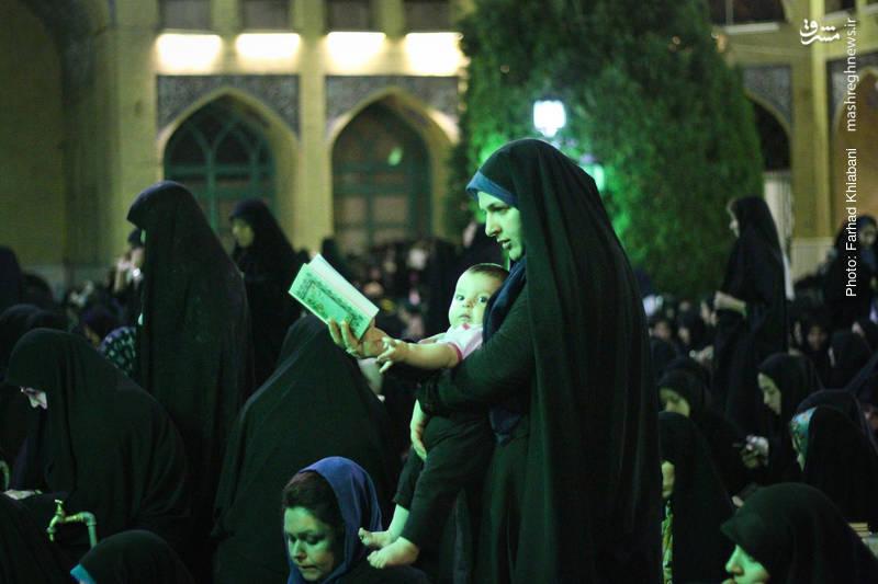 مراسم شب احیاء در مسجد دانشگاه شریف