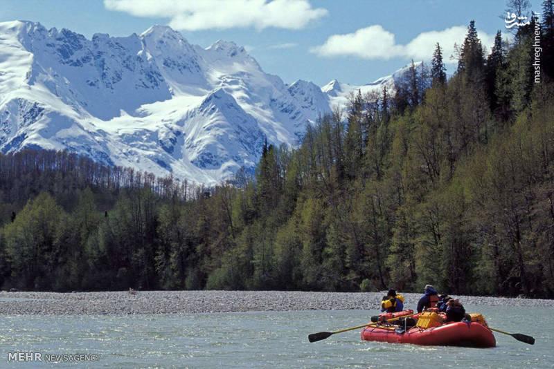 سفر به آلاسکا در فصل تابستان