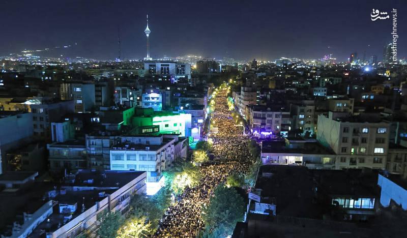 احیاء شب ۲۱ ماه مبارک رمضان  در  مسجد حضرت امیر (ع)