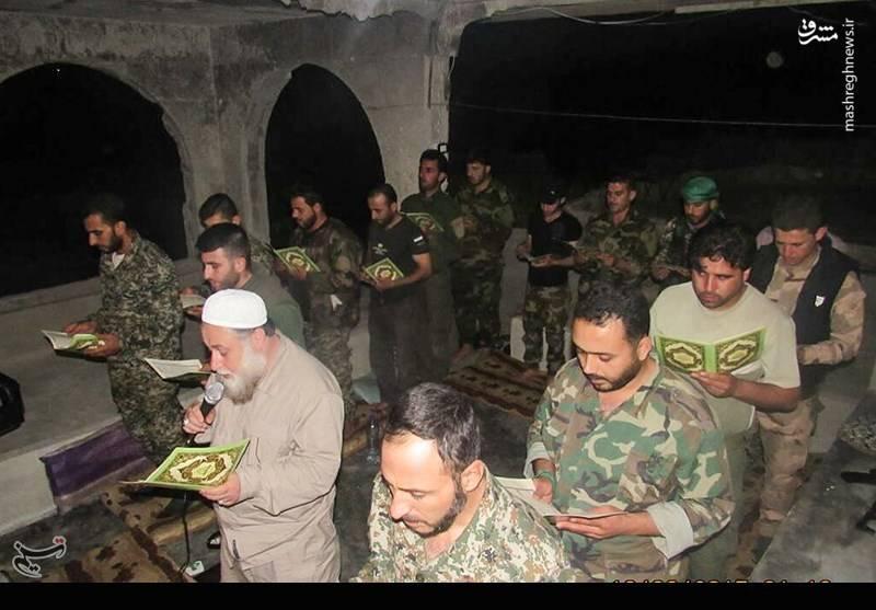 مراسم احیای شب های قدر در سوریه