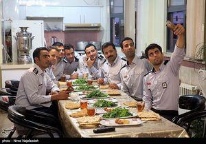 ماه مبارک رمضان در ایستگاه های آتش نشانی