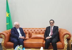 دیدار ظریف با وزیر خارجه  موریتانی