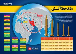 اینفوگرافیک/ توان موشکی ایران
