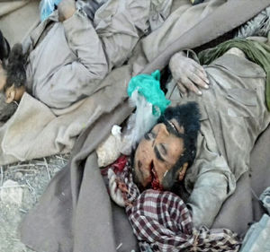 اولین عکس از جسد سرکرده گروهک تروریستی انصارالفرقان