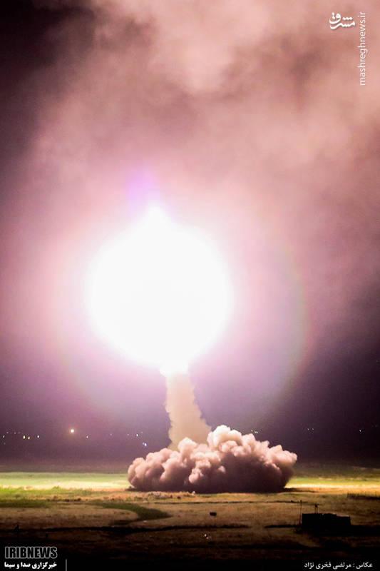 شلیک موشکهای سپاه به مقر تروریستها در دیرالزور سوریه