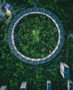 عکس/ زمین فوتبال خارقالعاده در مسکو روسیه