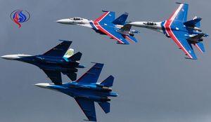 جنگنده های روسی در تعقیب هواپیمای آمریکایی
