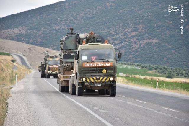 تحرکات نظامی ترکیه در مرز سوریه