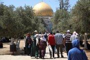 شکست سیاست های رژیم صهیونیستی در ممانعت از برگزاری نماز جمعه  روز قدس در جوار مسجدالاقصی
