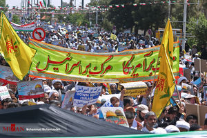 برگزاری راهپیمایی روز جهانی قدس در ۹۰۰ شهر کشور/ مسیرهای ۱۰ گانه راهپیمایی در تهران