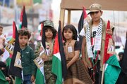تظاهرات مردم یمن در روز قدس