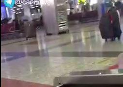 فیلم/ تيراندازى صبح امروز در فرودگاه مهرآباد