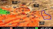 پیشروی نیروهای مقاومت در شرق حمص سوریه +نقشه و عکس